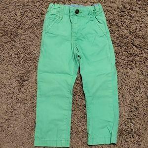 OshKosh Green Pant 3T